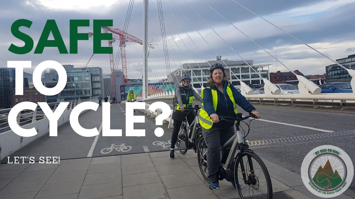 safe cycle tours dublin bike or hike