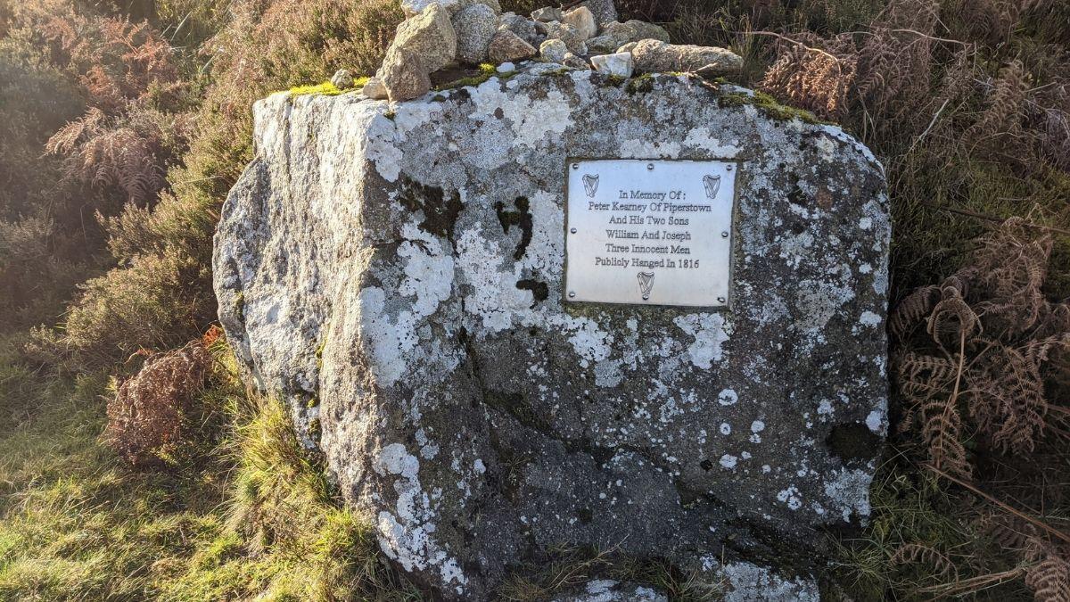 Memorial Plaque to the Kearneys